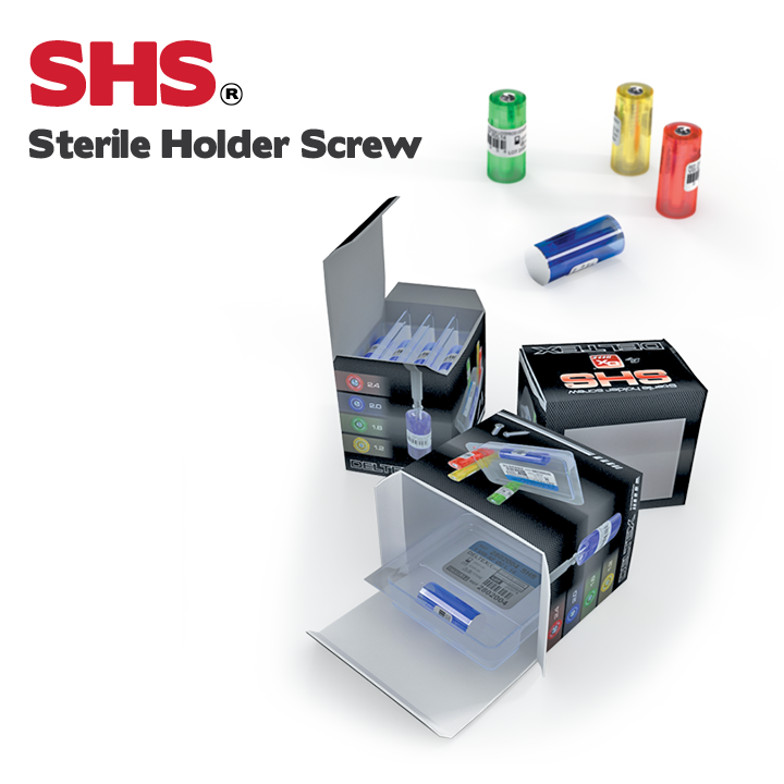 SHS - Sterile Holder Screw ( sets unitaires stériles )