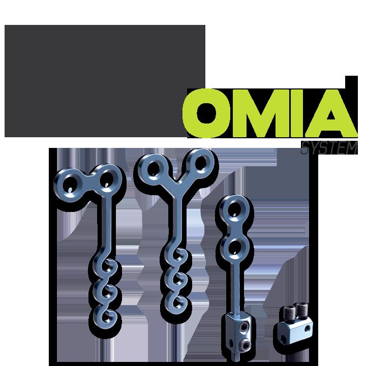 DX-OMIA plaques d'ancrage
