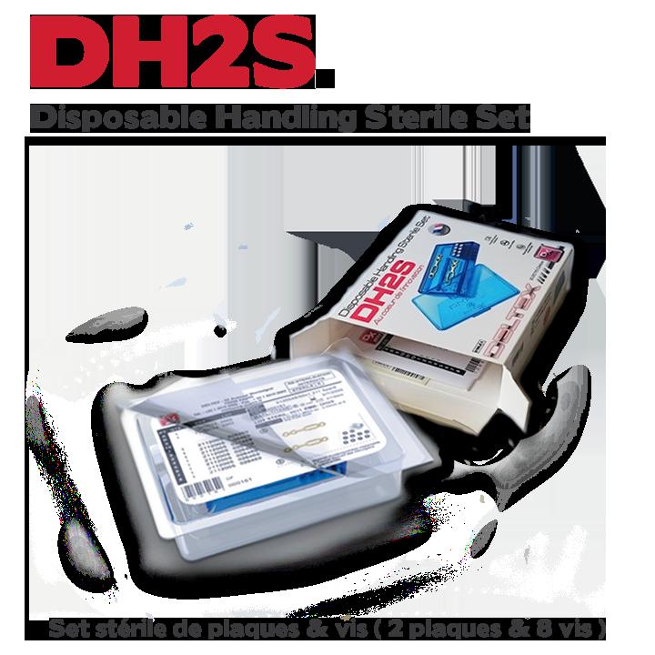 DH2S set stérile de plaques & de vis